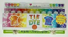 Create Basics Tie Dye Kit 47 Piece, 10 Color Super Pack   FREE SHIPPING