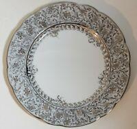 Bernardaud Eden Platine Dinner Plate - NEW