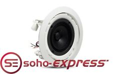 JBL 2x PRO 4-INCH FULL-RANGE IN-CEILING SPEAKERS BACKGROUND MUSIC 8124