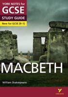 Macbeth: York Notes for GCSE (9-1),James Sale, Ms Alison Powell