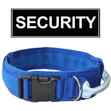 "2"" Tactical Military Heavy Duty Dog Collar Reflective Handle Training Adjustable"