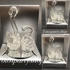 12 Crystal Kissing Swans Nuestra Boda Wedding Party Favors Wedding Favors