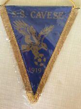 GAGLIARDETTO UFFICIALE CALCIO S.S. CAVESE 1919 CON AQUILA DORATA