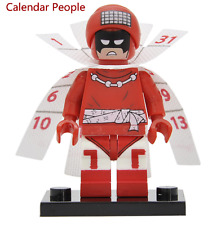 Calendar Man Batman Movie custom minifigure Fits Lego - TRUSTED UK SELLER