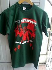 offspring , the offspring t shirt tour 09 ,size S new . color green .