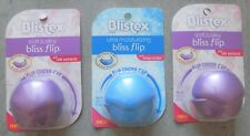 3 Blistex  Lip Care Soft & Silky Bliss Flip with Silk Extracts Formula
