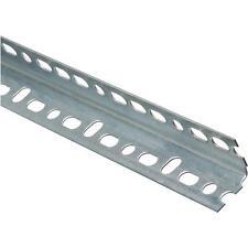 """20-Galvanized Steel 1.5"""" X 2 1/4"""" X 4' Garage Door Opener Slotted Angle N341172"""