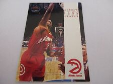 Carte NBA SKYBOX 1993-94 #195 Andrew Lang Atlanta Hawks
