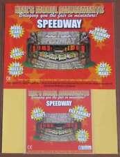 Fairground Speedway Ride Model Card Kit on PDF Disc + A4 Card