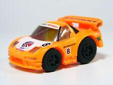 TAKARA TOMY Choro Q Honda NSX Rasing #8 JGTC Orange, Pullback Miniature car