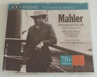 NEW Mahler: Symphony No. 10 BBC National Orchestra Of Wales Mark Wigglesworth CD