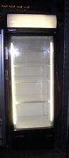 DISPLAY CHILLER £410 + VAT: STAYCOLD HD690, SINGLE GLASS DOOR (EX SHORT RENTAL)
