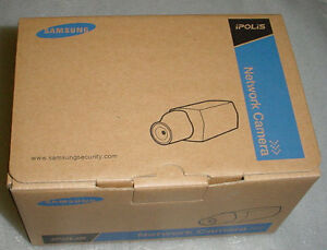 Lot 10 New: Samsung SNB-1001N VGA Network Ethernet Camera, Face/Motion Detect