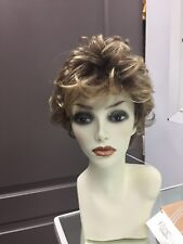 Gabor AU NATUREL Short Curly Lace Front Wig, GL11/25SS Rooted Honey Pecan