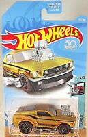 2018 Hot Wheels #157 Tooned 5/5 '68 MUSTANG Gold w/Black Pr5Sp  50th Anniversary