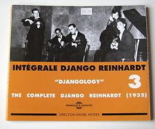 DJANGO REINHARDT -  INTEGRALE N°  3 -  ( 1935 ) -  2 CD