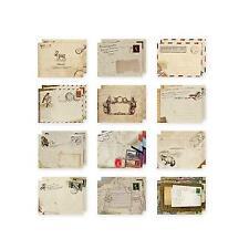 Briefumschlag Schön Verschiedene Arte Mini-Umschlag ***NEU*** 12STK