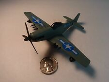 Racing Champions Skybirds Blue Green P-51-D Mustang WW II Fighter Airplane