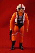 Vintage Star Wars Luke Skywalker X Wing Pilot Complete Figure with Blaster
