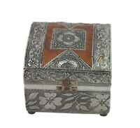 Unique Beautiful Traditional Wooden Velvet Fitted Jewelry Box Collective i71-515