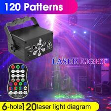 LED 120 Pattern Laser Projector RGB Stage Lighting Party KTV DJ Disco Light Club