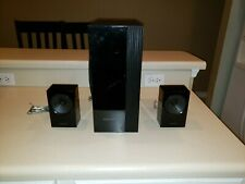 Samsung PS-EW2-2 Subwoofer and Two PS-ES3-1 Home Theatre Speakers with wires
