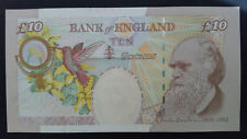 """""""Bank England""""10pound""""Queen Elizabeth II &Darwin""""ND2000""""SUPERB GEM UNC Banknote"""""""