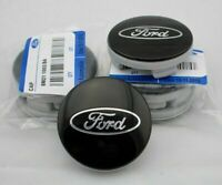 4 x 54mm FORD Schwarz Black Nabenkappen Felgendeckel Allufelge Alloy Wheel Cap 3