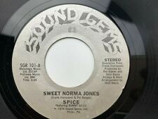 Spice Sweet Norma Jones / Can't Wait Til Morning Comes 45 rpm Record Black Print