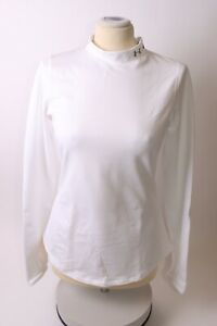 Under Armour Ladies Mock Fitted Base Layer - S - White