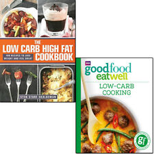 Low Carb Cookbook Goodfood Everyday Family Recipes Collection 2 Books Set New