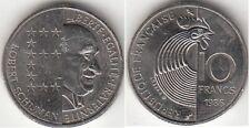 Monnaie Française 10 francs Robert Schuman 1986