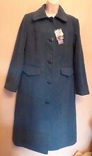 Edinburgh Woolen Mill (EWM) UK12 EU40 US8 new dark aqua winter coat