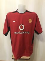Manchester United 2002/2003/2004 Home Size XL Nike shirt soccer jersey football