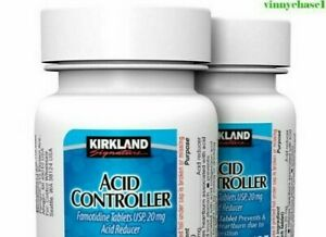 Kirkland Signature Acid Controller 20mg., 2 bottles-Long expiry date