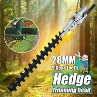 7/9 T 24/26/28mm Universal Hedge Trimmer Attachment Expand Double Sided Blades