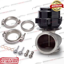 60MM V-BAND WASTEGATE BLACK TiAL Style V60 Air Cooled 2 Springs 1 Year Warranty