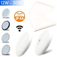 LED Decken Leuchte Lampe IP44 Bad Schlaf Wohn Zimmer Küche Beleuchtung Sensor