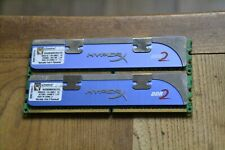 2GB (2x1GB) Kingston HyperX DDR2 1066 PC2 8500 240-pin Memory RAM KHX8500D2K2/2G