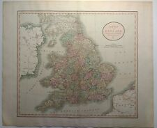 Antique Map of England and Wales by John Cary 1811