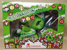 """Tokidoki Unicorno 5"""" Natalia Christmas Collectible Green Vinyl Figure SEALED"""