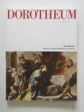 Dorotheum Alte Meister Katalog April 2008