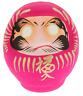 "Japanese 3.75""H Pink DARUMA AI Love Wish-making Good Luck Daruma Doll/Made Japan"