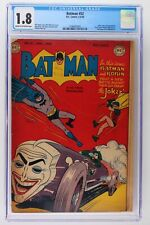 Batman #52 - DC 1949 - CGC 1.8 - Joker Cover & App!