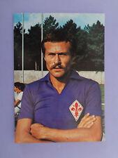 CARTOLINA POSTCARD CALCIO SOCCER FIORENTINA ZUCCHIERI 1976-77  (NO PANINI) - FIO