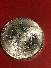 1989 Mexico Silver 1 Oz .999 onza Libertad- Low Mintage
