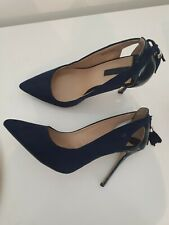 Dorothy Perkins Navy Court Shoes Size 6