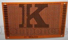 Basetta Millefori 9 x 15 cm bachelite monofaccia PCB Universal Board