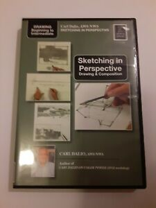 Sketching in Perspective by Carl Dalio - Art Education DVD • EXCELLENT CONDITION