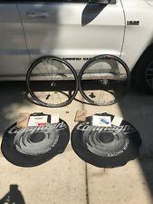 Campagnolo Eurus Wheels,  Freewheel, Bags, Skewers, Continental  Tires G3
